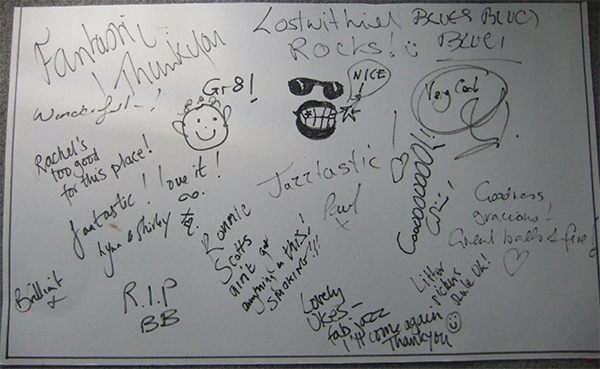 Graffiti board